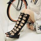 Wedged Gladiator Sandals