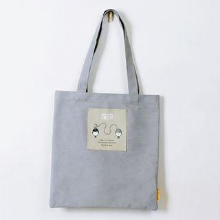 Character Canvas Shopper Bag