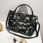 Camouflage Printed Tote