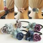 Flower Hair Tie / Hair Clamp