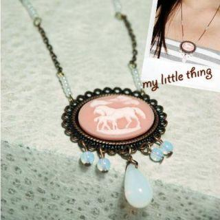 Vintage Horses Necklace