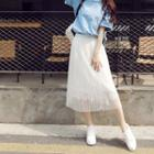 Overlay Midi Skirt