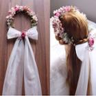 Wedding Bow Floral Hair Band