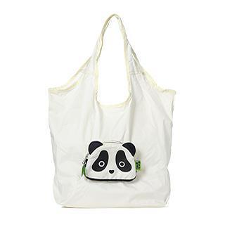 Panda Eco Bag (s) Creamy White - S