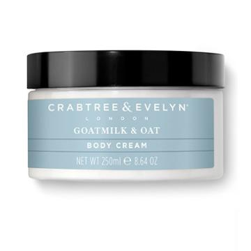 Crabtree & Evelyn - Goatmilk & Oat Body Cream 250ml