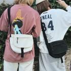 Canvas Mini Messenger Bag