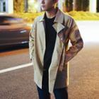 Snap Button Long Jacket
