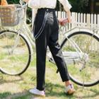 Slim-fit Suspender Pants
