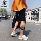 Printed Strap Shorts