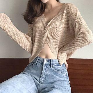 Open-back Knit Top