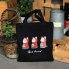 Choo Choo Cat Series Shopper Bag Black - One Size