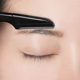 Foldable Eyebrow Razor Black - One Size