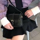Belted-detail Shoulder Bag