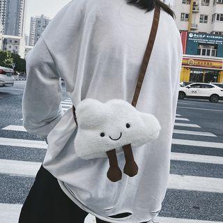 Furry Cloud Crossbody Bag Cloud - One Size