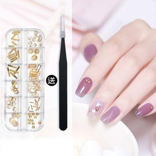 Metallic/ Faux Pearl Nail Art Decoration