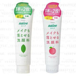 Kracie - Naive Makeup Removal Face Wash - 2 Types