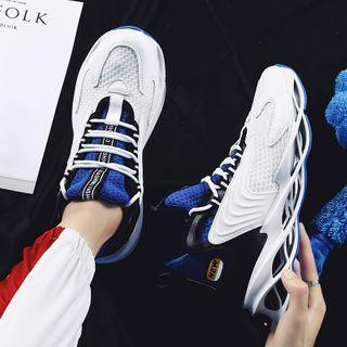 Platform High Top Mesh Sneakers