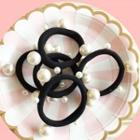 Faux Pearl Hair Tie Faux Pearl Hair Tie - One Size