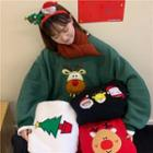 Xmas Embroidered Pullover