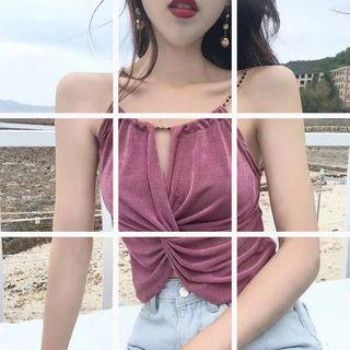 Knot Knit Camisole Top
