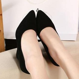 Pointy Wedge Pumps