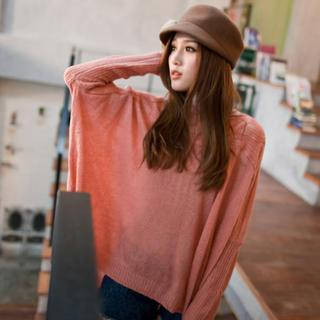 Loose-fit Knit Top