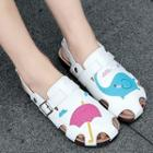Applique Sandals