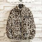 Leopard Leopard Zip Jacket