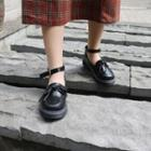 Ankle Strap Oxfords