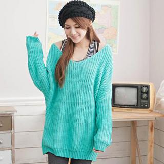 V-neck Loose-fit Sweater