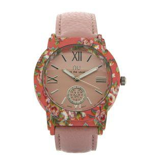 Floral Printed Watch One Size