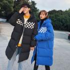 Couple Matching Checked Padded Coat