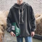 Long-sleeve Zip Hooded Top