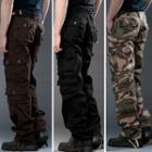 Plain / Camouflage Cargo Pants