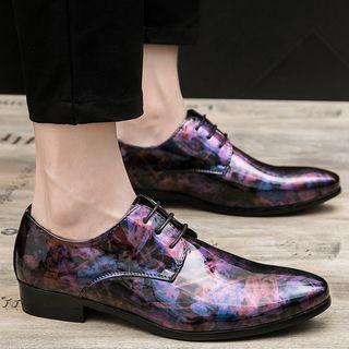 Printed Oxfords