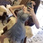Lace-up Open Back Spaghetti Strap Dress