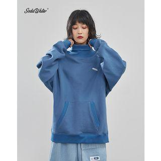 Unisex Loose-fit High-neck Light Pullover