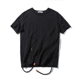 Short-sleeve Drawstring T-shirt