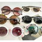 Retro Round Studded Sunglasses