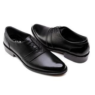 Genuine-leather Oxfords