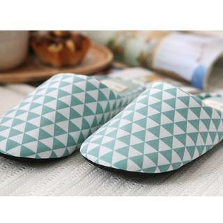 Patterned Slippers