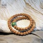 Wooden Beaded Layered Bracelet