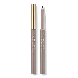 Vdl - Eye Fine Slim Touch Eyeliner - 2 Colors #02 Brown