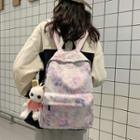 Paint Splatter Nylon Backpack