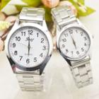 Couple Matching Stainless Steel Bracelet Watch