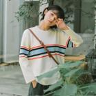 Stripe-detail Sweater