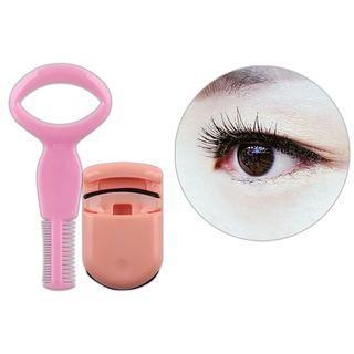 Set: Eyelash Curler + Eyelash Comb