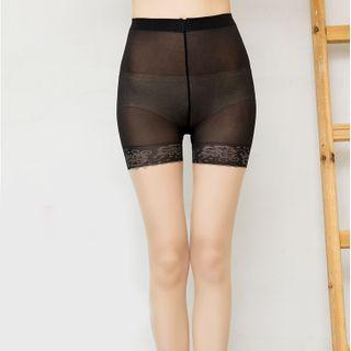 Two-tone Sheer Tights