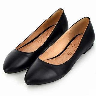 Genuine Leather Flats