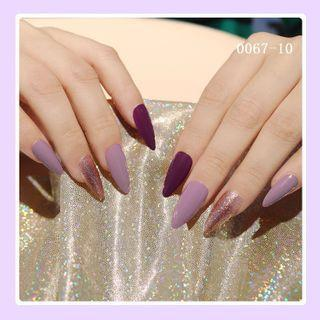 Plain Pointed Faux Nail Tip